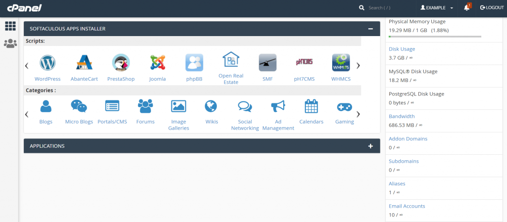 softaculous-feature-cpanel-control-panel-wordpress-install-auhost4u-support-tutorial