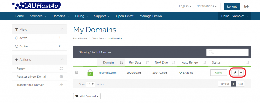 transfer-out-a-domain-manage-domain-auhost4u-platform-tutorial