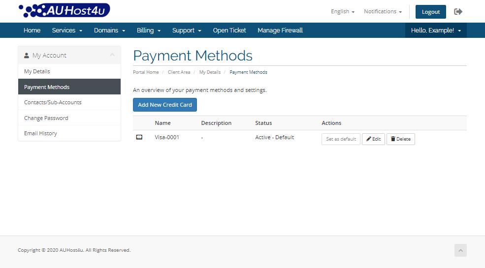 account-information-modify-payment-methods-area-auhost4u-tutorial
