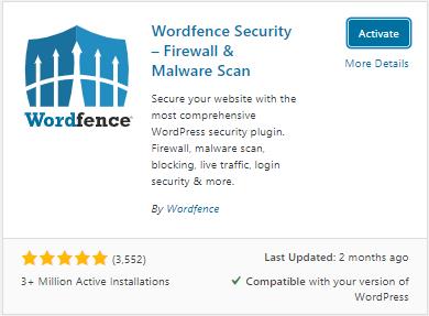 wordpress-activate-wordfence-plugin-auhost4u-tutorial