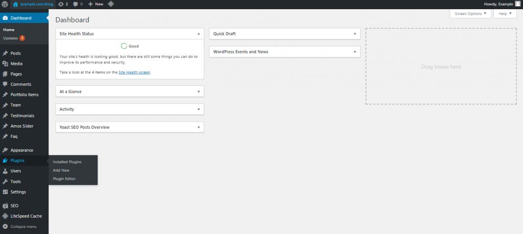wordpress-install-a-plugin-feature-auhost4u-tutorial