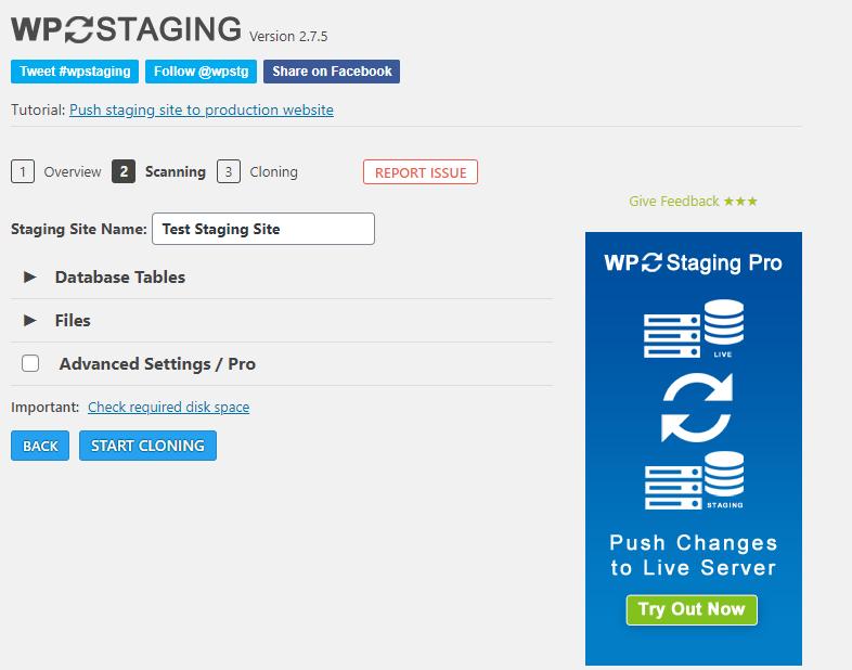 staging-wordpress-website-plugin-guide-screenshot-auhost4u